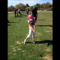 My daughters golfing journey